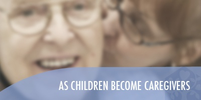 as children become caregivers